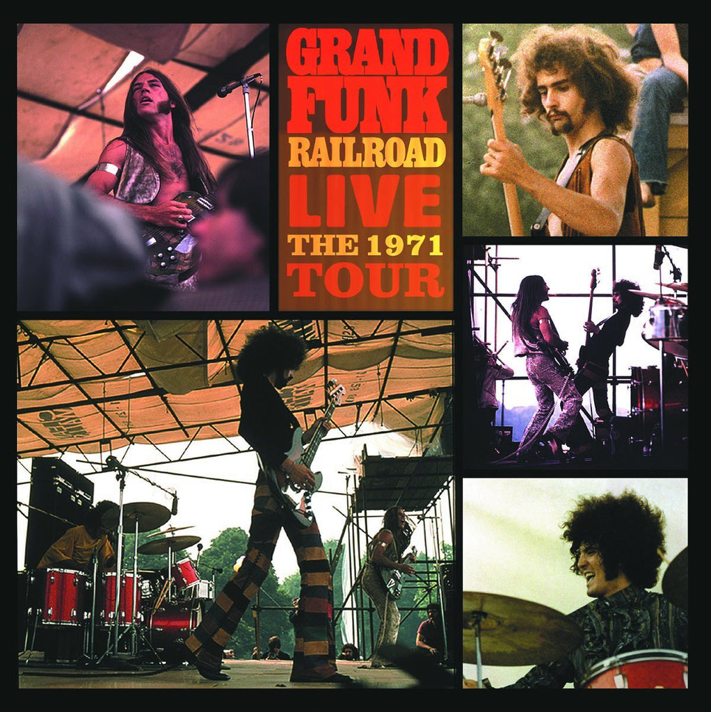 Grand Funk Railroad - Live The 1971 Tour (180 Gram Audiophile Double Vinyl Album)