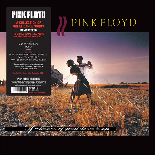 Pink Floyd - A Collection Of Great Dance Songs (180 Gram Remastered Heavyweight Vinyl Compilation)