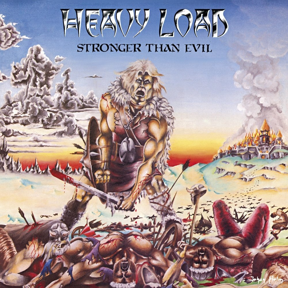 Heavy Load - Stronger Than Evil (Orange Vinyl Album)