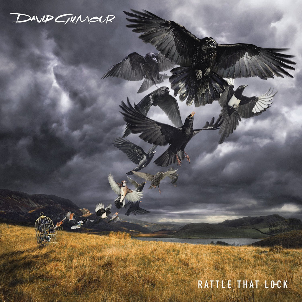 David Gilmour - Rattle That Lock (Heavyweight Vinyl Gatefold Album + 16-page Photo/Lyric Book + CD Download Card)