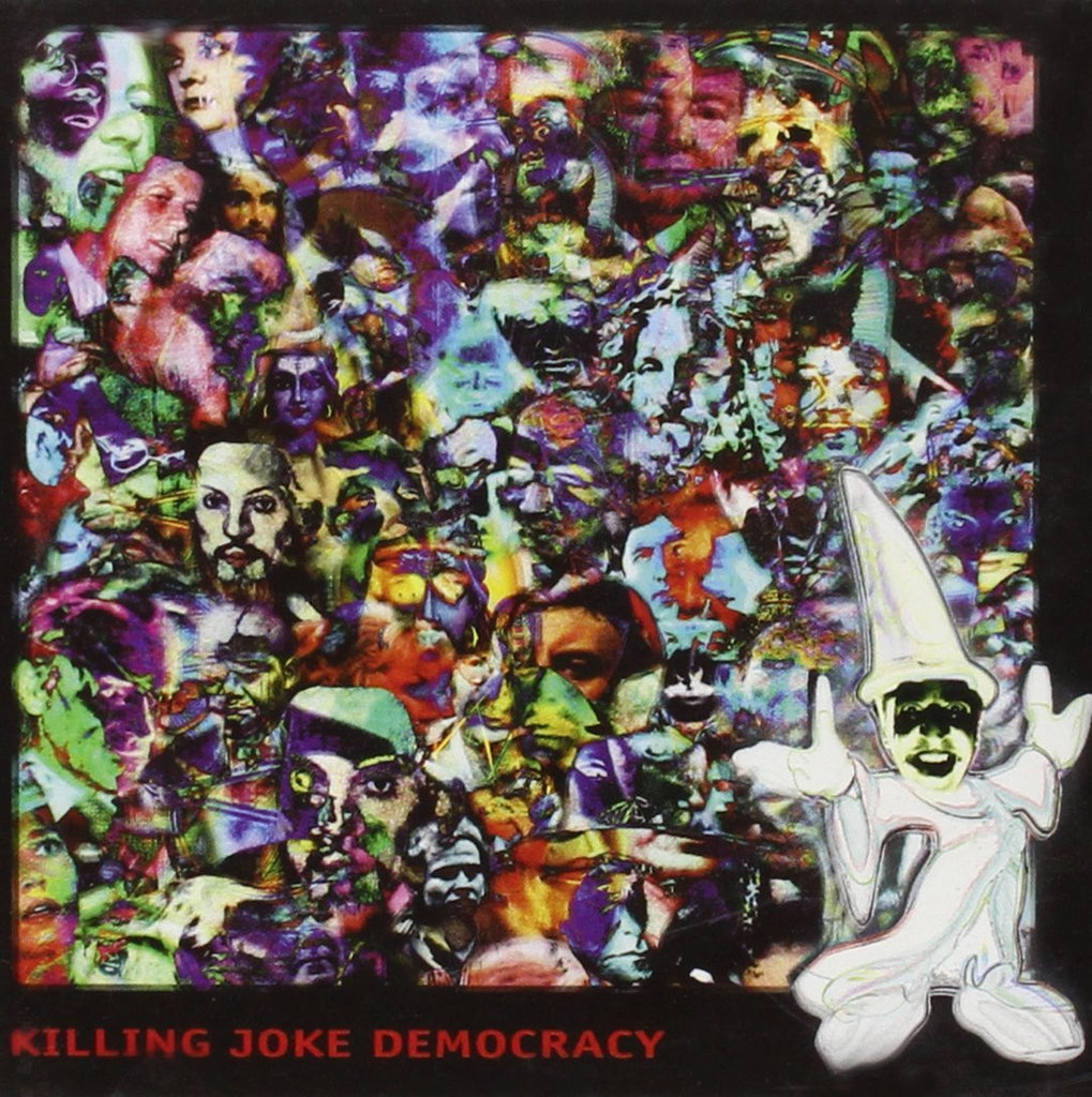 "Killing Joke - Democracy - Limited Edition (White Vinyl Double Album + Extra Track ""Democracy"")"