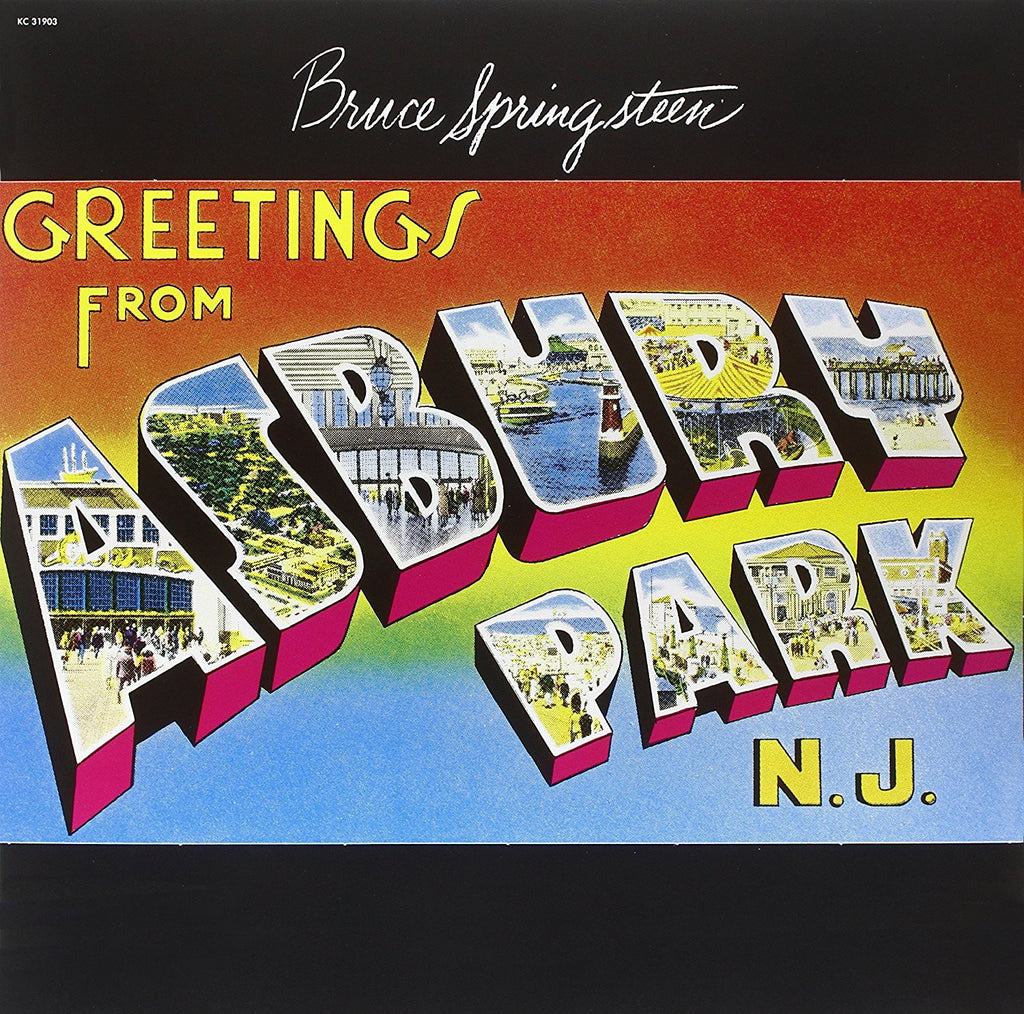 Bruce Springsteen - Greetings From Asbury Park, N.J. (Remastered 180 Gram Audiophile Vinyl)