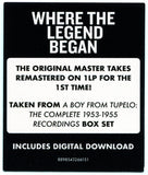 Elvis Presley - A Boy From Tupelo: The Sun Masters - (Remastered Vinyl Compilation Album + Digital Download)