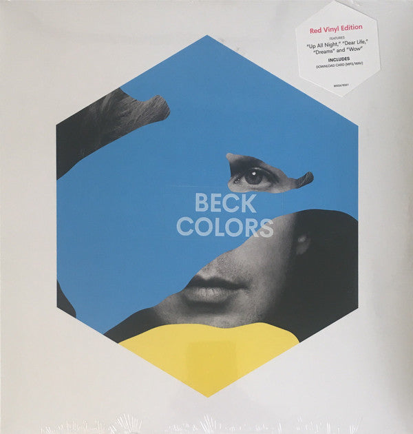 Beck - Colors  - Red Vinyl Edition (Red Vinyl Album + MP3/WAV Download Card)