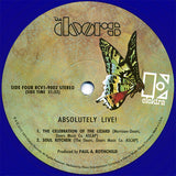 The Doors - Absolutely Live (Remastered 180 Gram Double Midnight Blue Vinyl Gatefold Album)