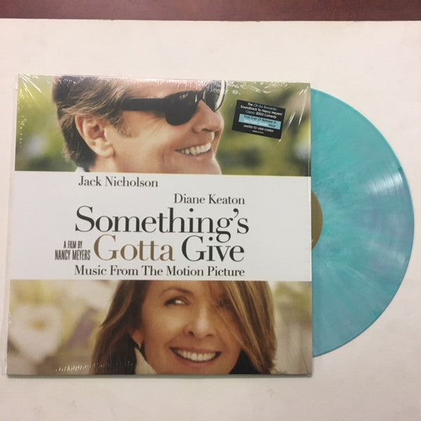 Soundtrack - Something's Gotta Give (Music From The Motion Picture) - Limited To 1000 Copies (Sea Foam Green Vinyl Compilation Album)