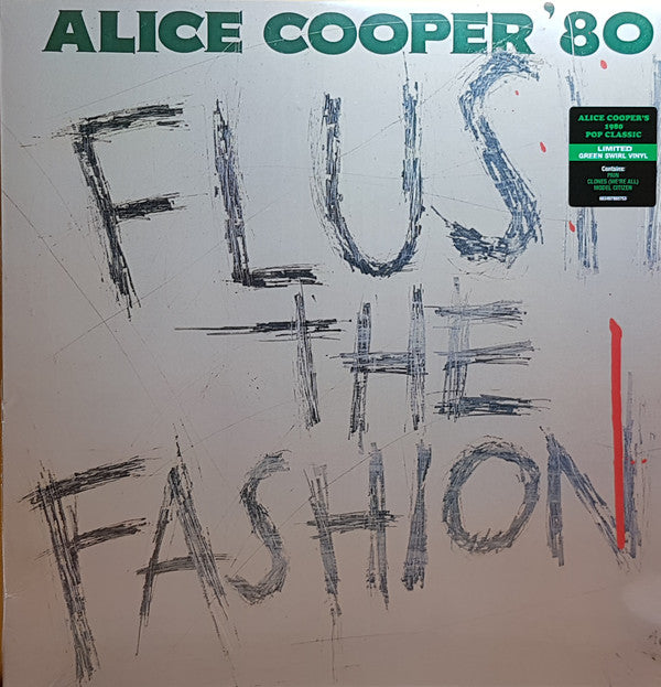 Alice Cooper - Flush The Fashion (1980 Pop Classic) - Limited Edition (Repressed Green Swirl Vinyl)