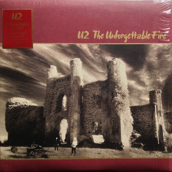 U2 - The Unforgettable Fire (Remastered Vinyl Album + 16 Page Booklet)