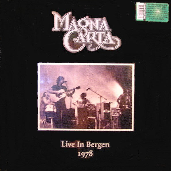 Magna Carta - Live In Bergen 1978 (180 Gram Virgin Vinyl Album)
