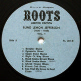 Blind Lemon Jefferson - Volume 1 - Limited Edition (Remastered Vinyl Compilation Album - Mono)