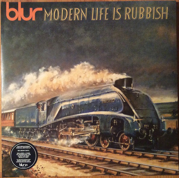 Blur - Modern Life Is Rubbish (180 Gram Remastered Special Edition Double Vinyl Album + MP3 Download Code)
