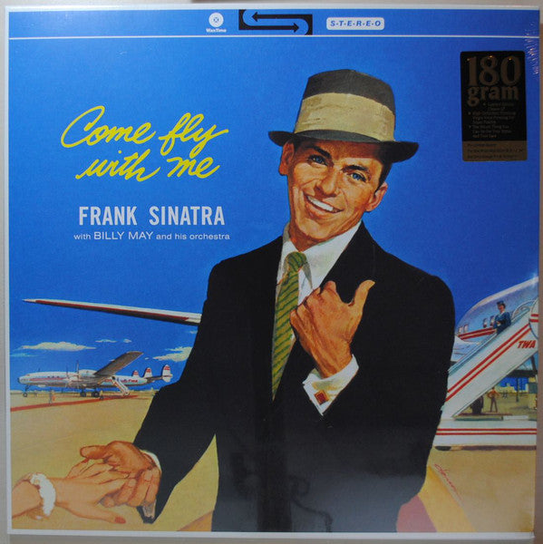 Sinatra Frank With Billy May And His Orchestra - Come Fly With Me - Limited Edition (180 Gram Vinyl Album)