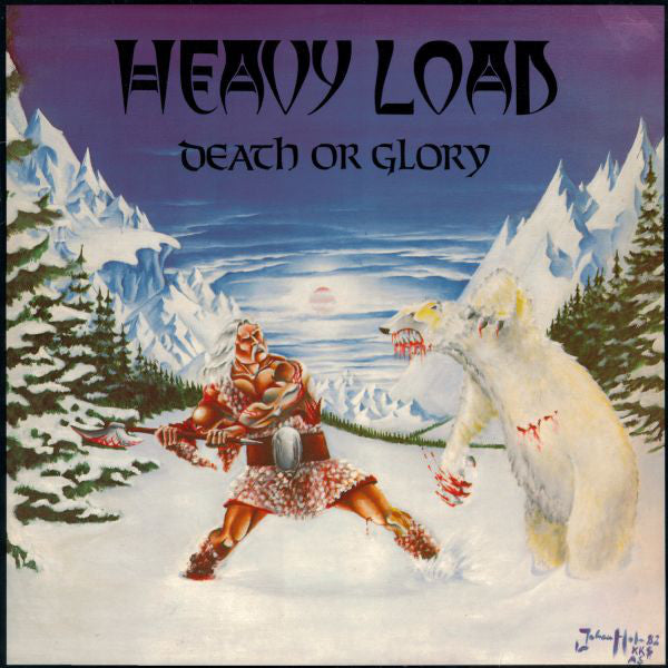Heavy Load - Death Or Glory (Green Vinyl Album)