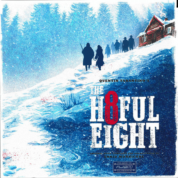 The Motion Picture Soundtrack - Ennio Morricone - Quentin Tarantino's The H8ful Eight / 8 Hrozných (Double Vinyl Album)