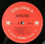 Leonard Cohen - Songs From A Room (180 Gram Vinyl)