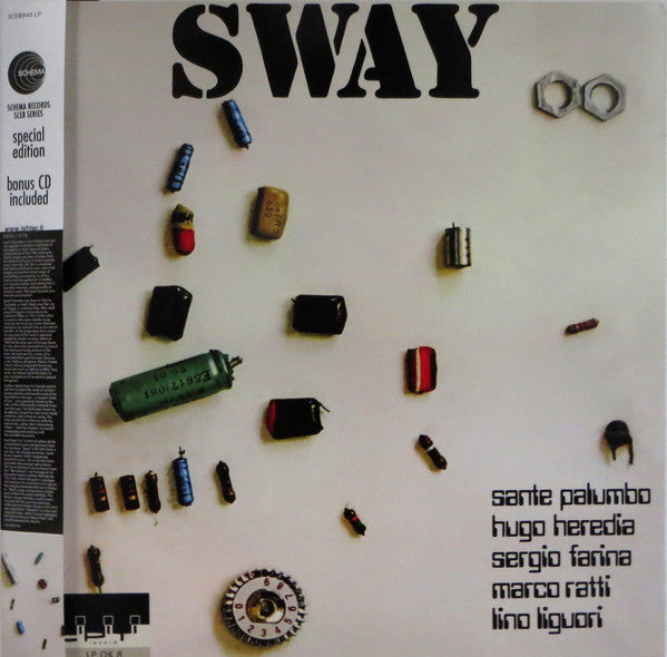Sante Palumbo Orchestra - Sway - Special Edition (Gatefold Vinyl Album + CD)