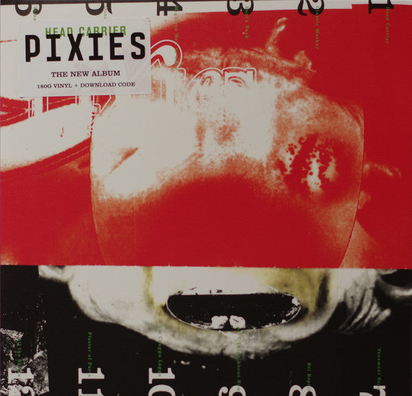Pixies - Head Carrier (180 Gram Vinyl Gatefold Album + Download Code)