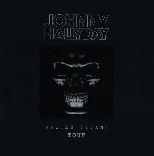 Johnny Hallyday - Rester Vivant Tour - Deluxe Limited Edition  (Triple Vinyl Album)