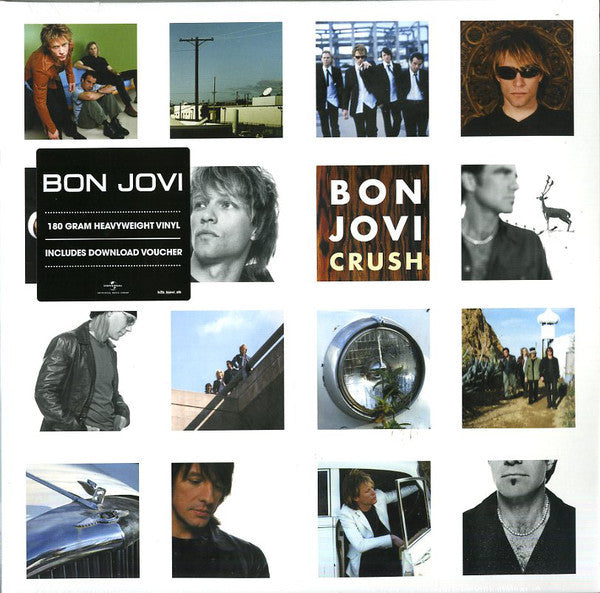 Bon Jovi - Crush (180 Gram Heavyweight Double Vinyl Album + Download Voucher)