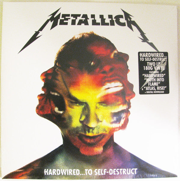 Metallica - Hardwired...To Self-Destruct (180 Gram Double Vinyl Album + Digital Download)