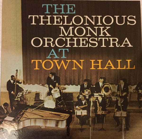 The Thelonious Monk Orchestra - At Town Hall (Double Vinyl Album)