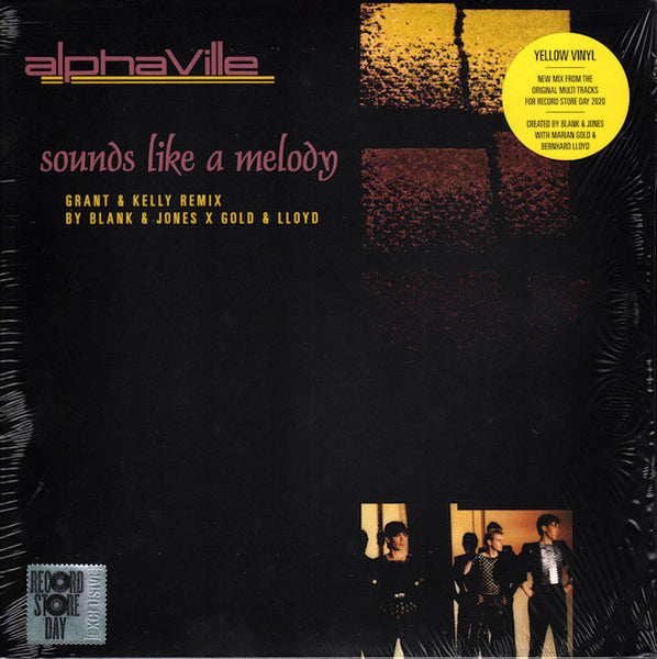 Alphaville - Sounds Like A Melody (12' Yellow Vinyl Single) - Record Store Day