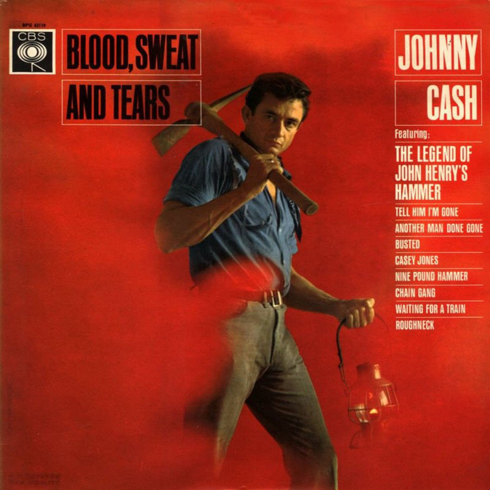 Johnny Cash - Blood, Sweat and Tears (180 Gram Vinyl)