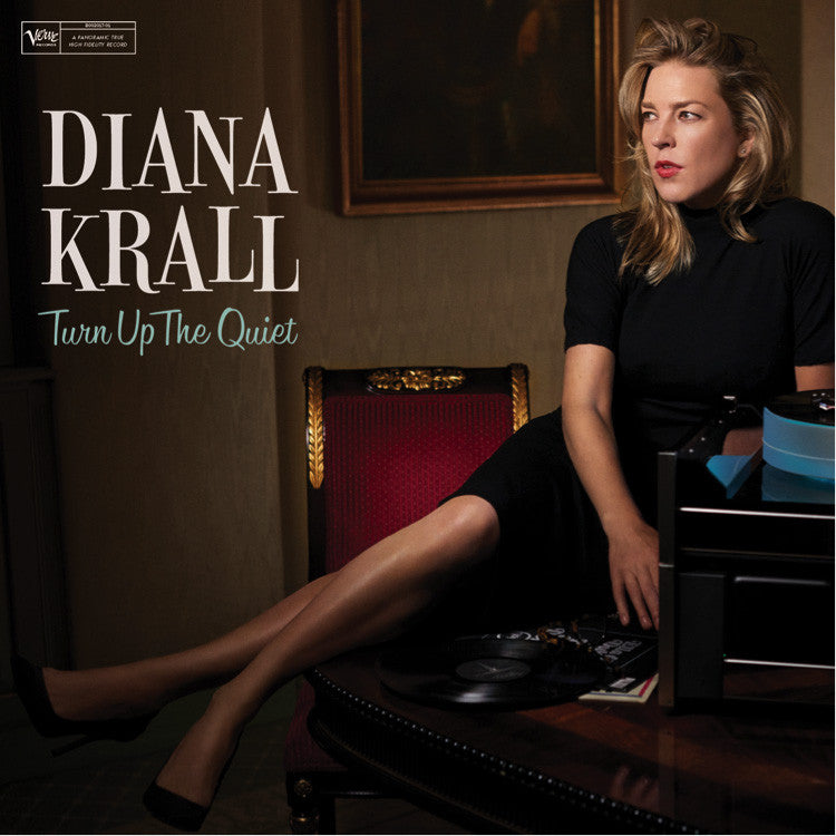 Diana Krall - Turn Up The Quiet - Double Vinyl Album