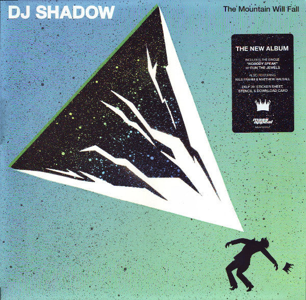 DJ Shadow - The Mountain Will Fall (Double Vinyl Album)