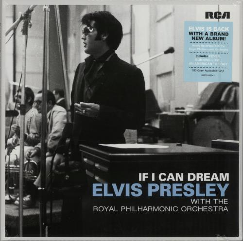 Elvis Presley With The Royal Philharmonic Orchestra - If I Can Dream (Double Vinyl Album)