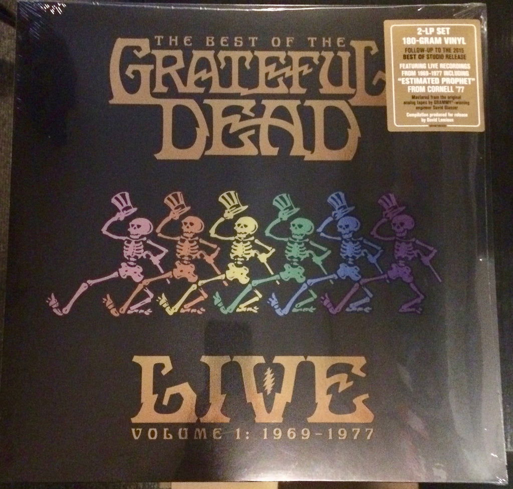 The Grateful Dead - The Best of the Grateful Dead Live: 1969-1977 - Vol 1  (Remastered 180 Gram Double Vinyl Compilation Album)