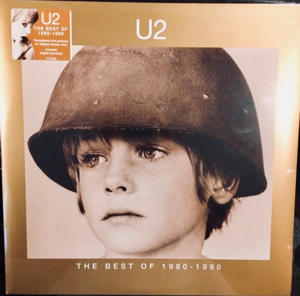 U2 - The Best Of 1980-1990 (Remastered 180 Gram Double Vinyl Gatefold Compilation Album + Digital Download)