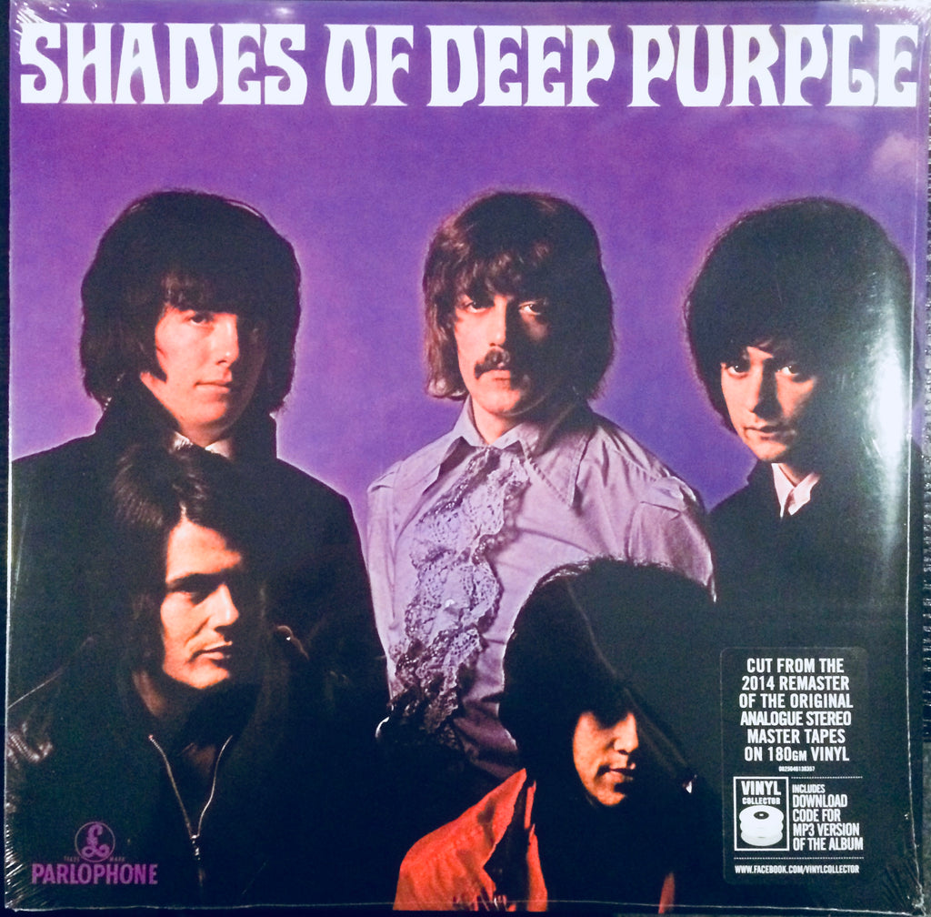 Deep Purple - Shades Of Deep Purple (Remastered 180 Gram Vinyl + Download Code For MP3 Version)