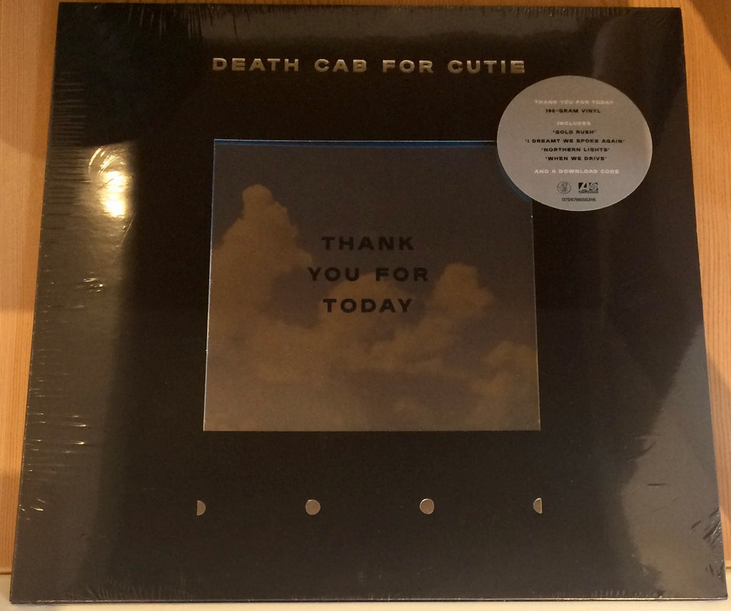 Death Cab For Cutie - Thank You For Today (180 Gram Vinyl Album + Download Code)