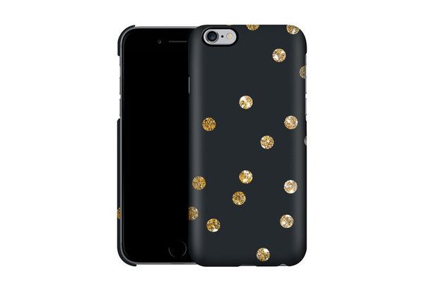 Caseable - Designový ochranný kryt na IPhone 6 Plus a 6s Plus - Gold Dots by Khristian Howell