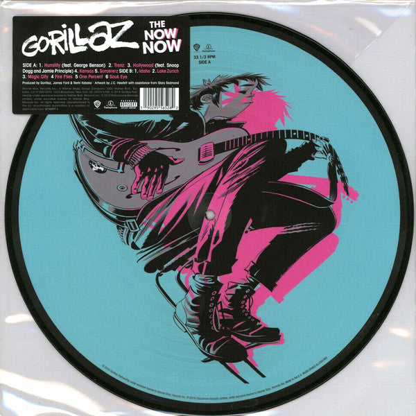 Gorillaz - The Now Now - (Picture Vinyl Album)