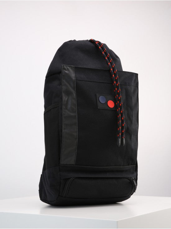 Pinqponq - Backpack Blok Medium - Licorice Black