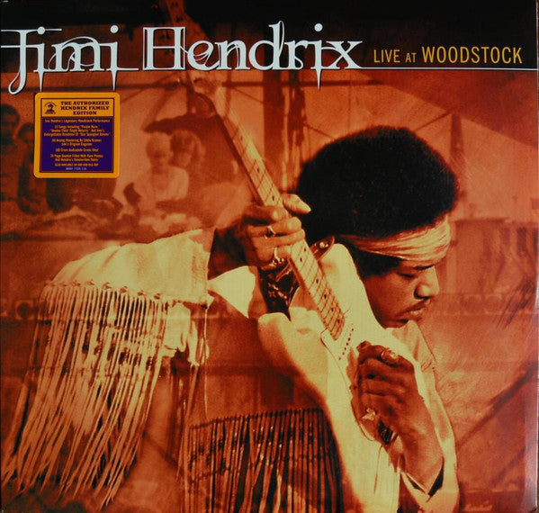 Hendrix Jimi - Live At Woodstock (Triple Vinyl Album)