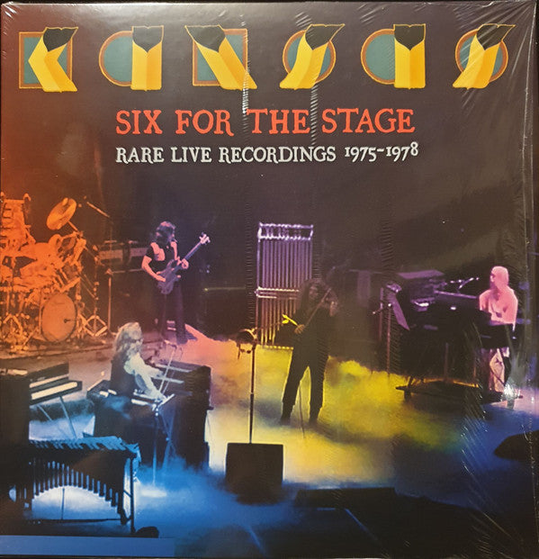 Kansas - Six For The Stage : Rare Live Recordings 1975-1978 (Double Vinyl Album)