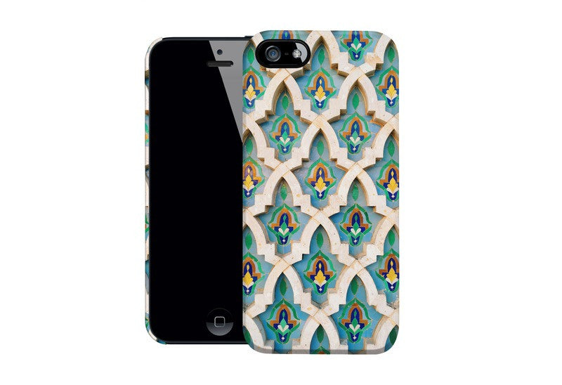 Caseable - Designový ochranný kryt na IPhone 5 a 5s - Moroccan Mosaic by Omid Scheybani