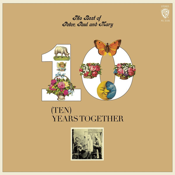 Peter, Paul and Mary - The Best of Peter, Paul And Mary (Ten) Years Together - Limited Edition (Orange Vinyl)