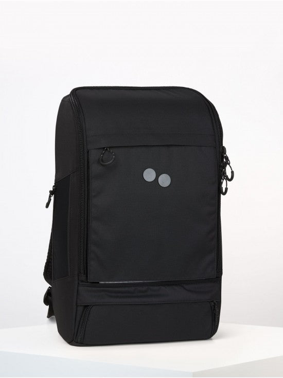 Pinqponq - Backpack Cubik Grand Extra - Rooted Black