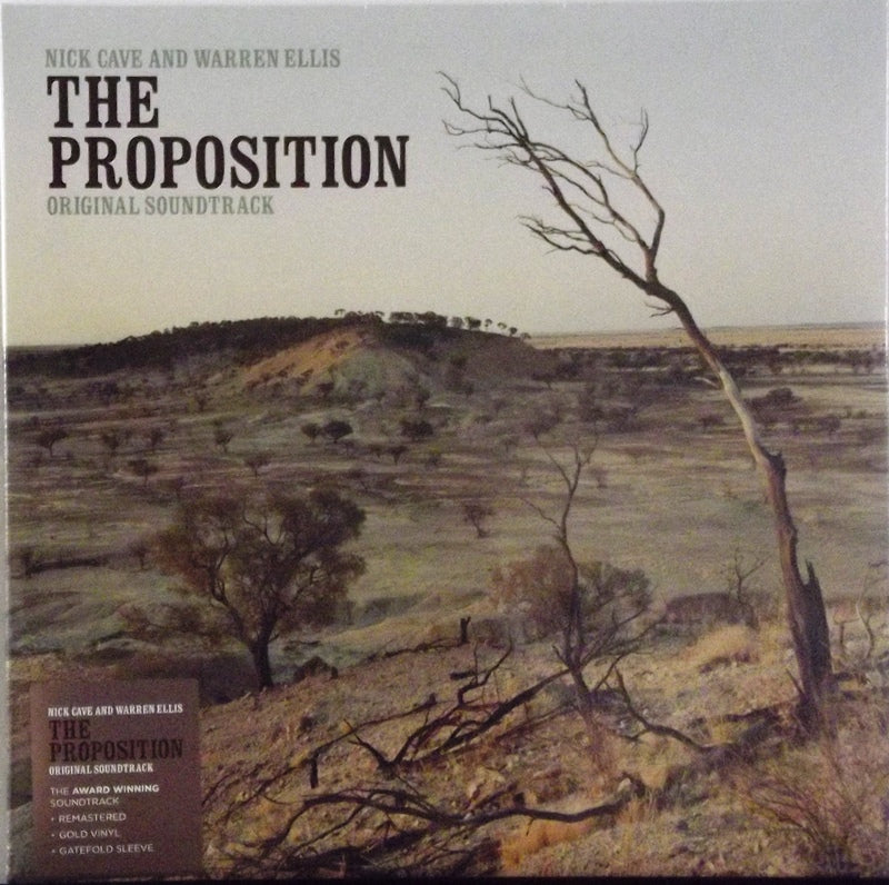 Nick Cave And Warren Ellis - Proposition - Original Soundtrack Gold Vinyl