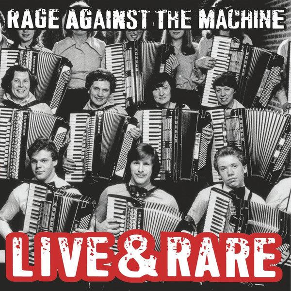 Rage Against The Machine - Live & Rare (180 Gram Double Vinyl Album)