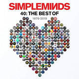 Simple Minds - 40: The Best Of 1979 -2019 (Double Vinyl Album)