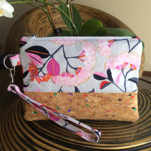 Pink Lilli Pilli Cork Clutch - Japri