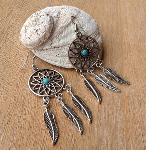 Dreamcatcher Hook Earrings - Japri