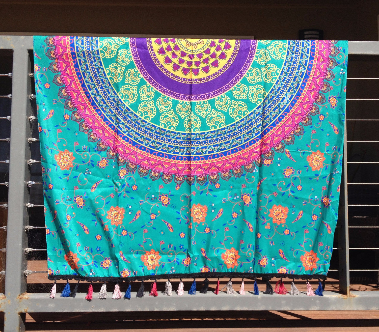 Mesmerised Mandala Throw - Japri