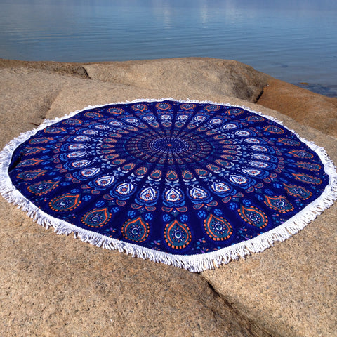 Indigo Beach Towel - Japri