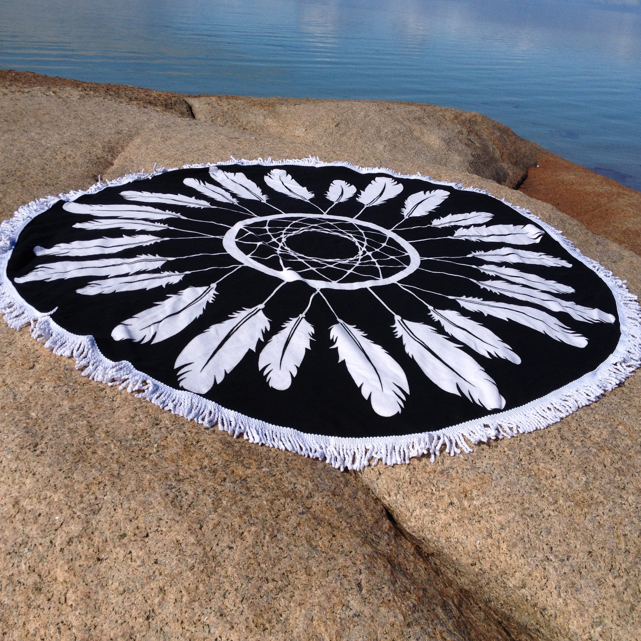 Feather & Dreamcatcher Beach Towel - Japri